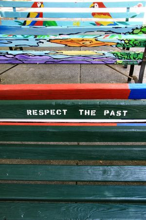 The art of a bench