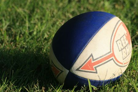 Rugby ball idle for the moment