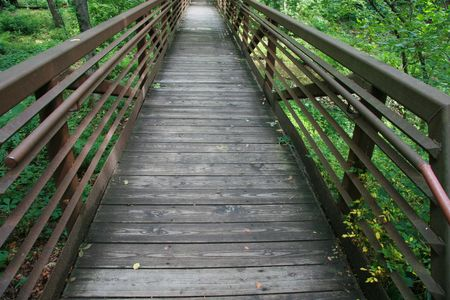 Footbridge trail