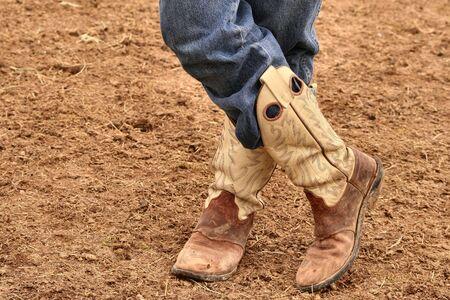 cowboy boots: Cowboy boots Stock Photo