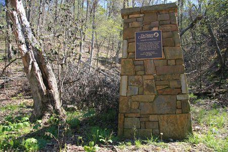 Nature preserve marker