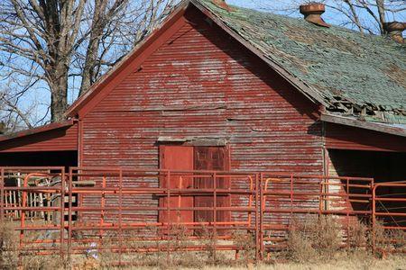 school house: Anteriormente una escuela House. Actualmente un granero.