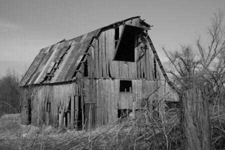 Old barn Reklamní fotografie