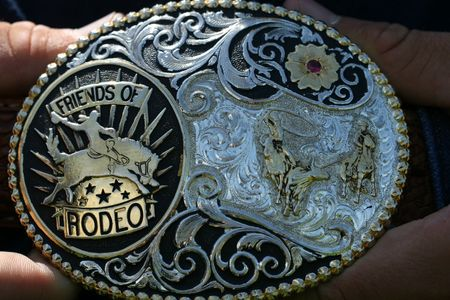 Cowboys rodeo buckle