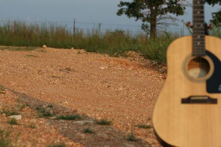 dirtroad: Musical instrument and the countryside
