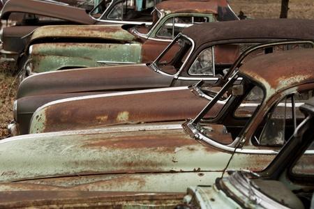 Vintage automobiles Reklamní fotografie