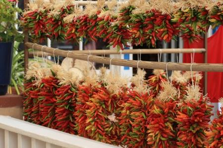 chiles secos: Piquin Chiles Pimiento Ristras