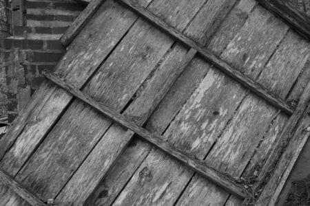Countryside wood rubbish Imagens