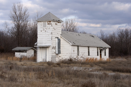 desolated: An abandoned church in rural America