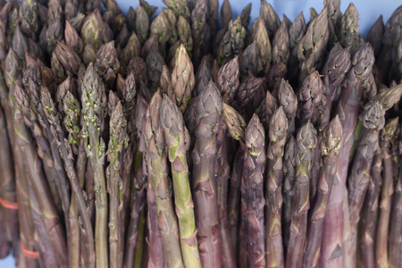 mouthwatering: Mouthwatering purple asparagus
