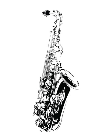 Saxophone Stock Vector - 15023074