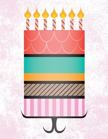 decoracion de pasteles: Gran Birthday Cake