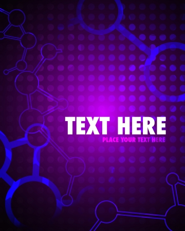 Colorful Abstract Purple Background