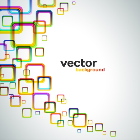 Colorful Vector Background Stock Vector - 20763049