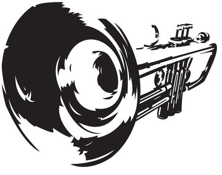 trompette: Trompette Illustration