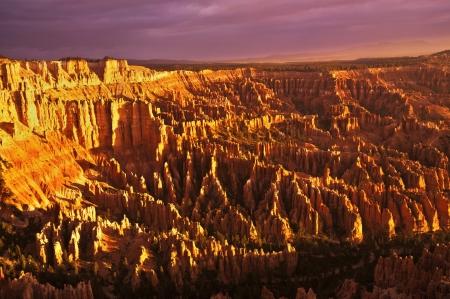 Bryce Canyon Hoodoos at sunrise Stock Photo - 20300519