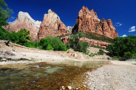 The View of Canyon Junction at Zion Stock Photo - 20300595