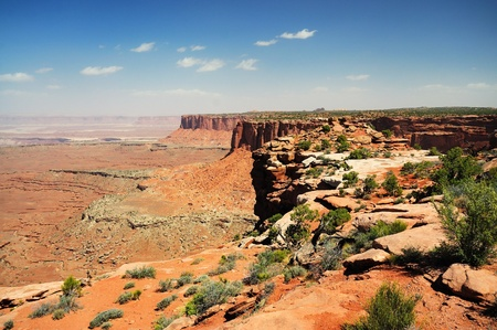 A View from Dead horse state park at Utah