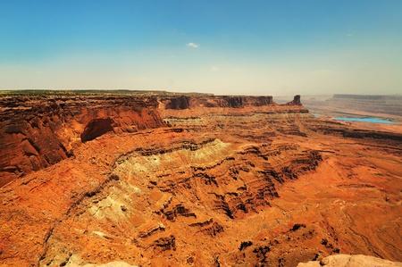 Het dode park van de paardstaat in Utah