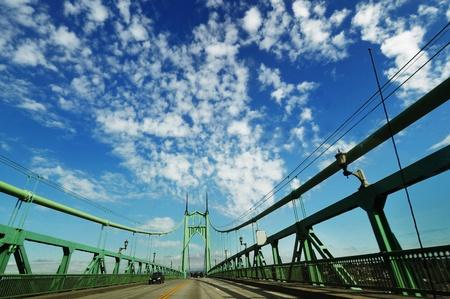 A View of st Johns historic bridge 版權商用圖片