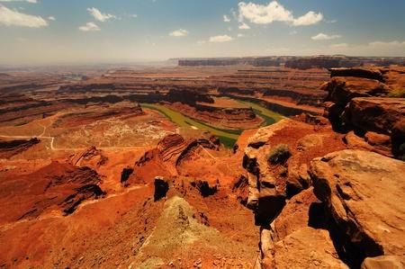 The Dead horse state park in Utah Stockfoto