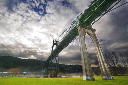 Mooie St Jones brug bij Portland