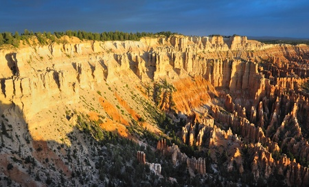 A Beautiful view of Bryce Point Taken at sunrise