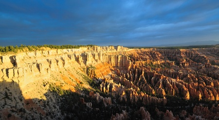 plateau point: A Beautiful view of Bryce Point Taken at sunrise