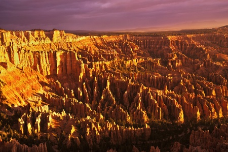 bryce canyon: A Beautiful view of Bryce Point Taken at sunrise