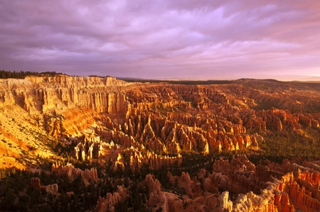 bryce: A Beautiful view of Bryce Point Taken at sunrise