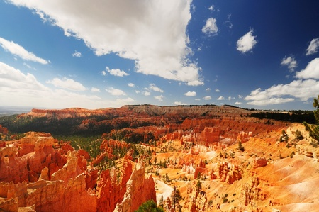 bryce canyon: Beautiful view of bryce canyon Stock Photo