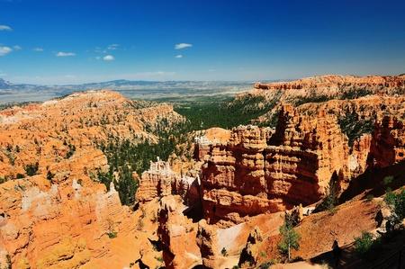 Beautiful Bryce canyon Stock Photo