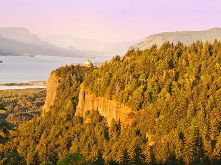 Beautiful vista point Stock Photo