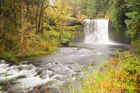 state park: The Beautiful View Of North Silver Falls