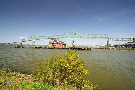 Astoria bridge 版權商用圖片