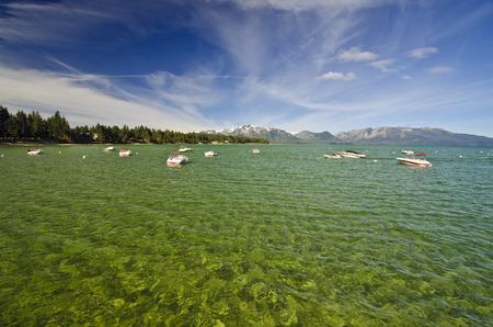 Beautiful View Of Lake Tohoe