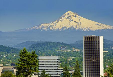 eastbank: Portland City view from the Washington park Portland