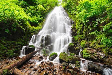 Beautiful fairy falls