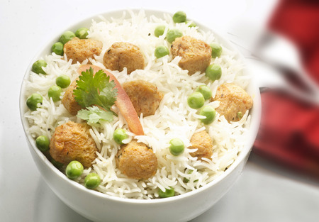 Very delicious Neutela pulao Stock Photo