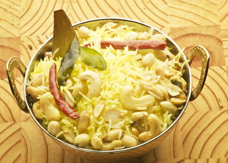 Pulao with nut