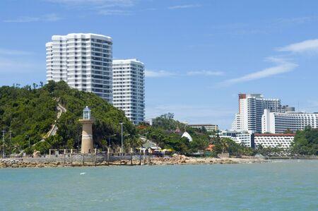 パタヤ市内にビーコンします。タイ