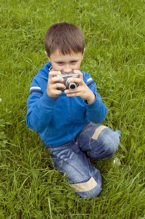 Little photographer Stock Photo - 5435659