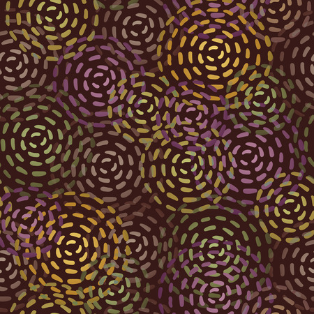 ongoing: Seamless texture of endless round color spots.