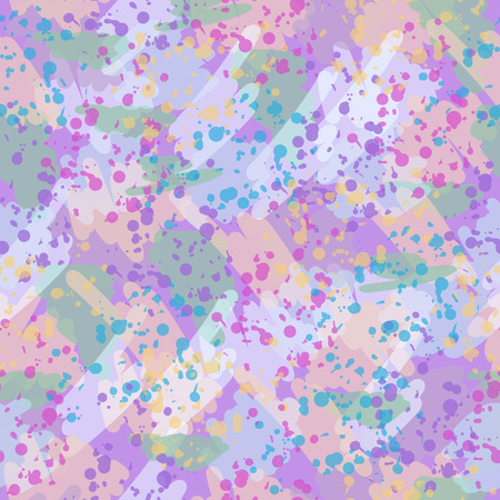 endless: Vector seamless texture of endless color spots.