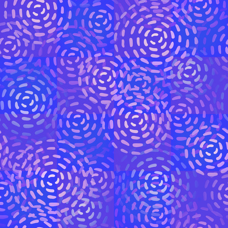 cyrcle: Seamless texture of endless round blue color spots.