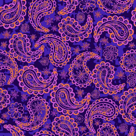 oriental vector: Infinite ornament oriental style. Vector background illustration. Illustration