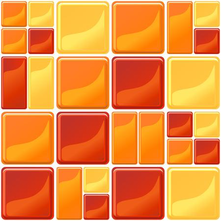 Mehrfarbige Fliesen Textur nahtlose Vektor-Illustration Standard-Bild - 74500555