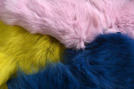 background texture of rabbit fur
