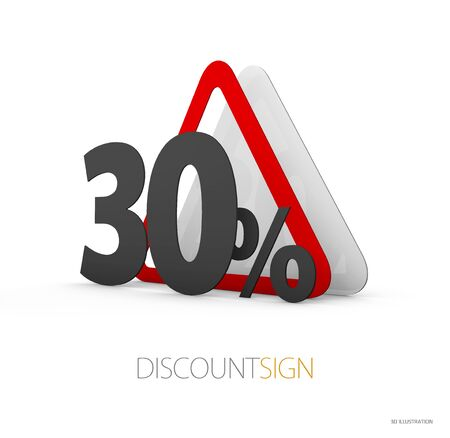 Road Sign, red yellow sign as western roadsign symbols, isolated white 3d Illustration.