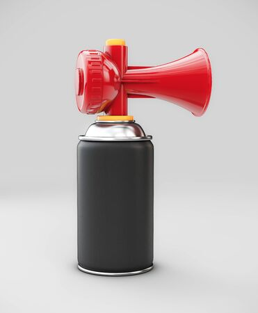 3d Rendering of Sport air horn